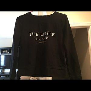 Dressy sweatshirt banana republic